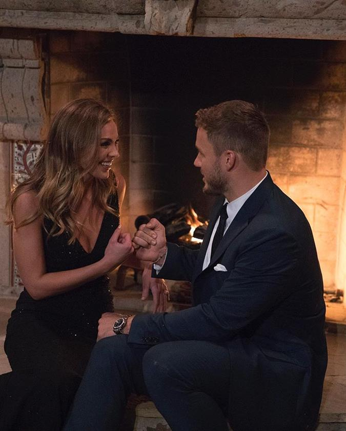 Hannah Brown and Caelynn Miller-Keyes fight for love at The Bachelor