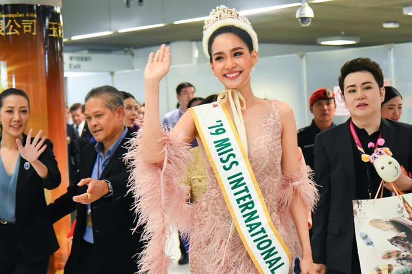 Miss International 2019 Sireethorn Leearamwat's Homecoming
