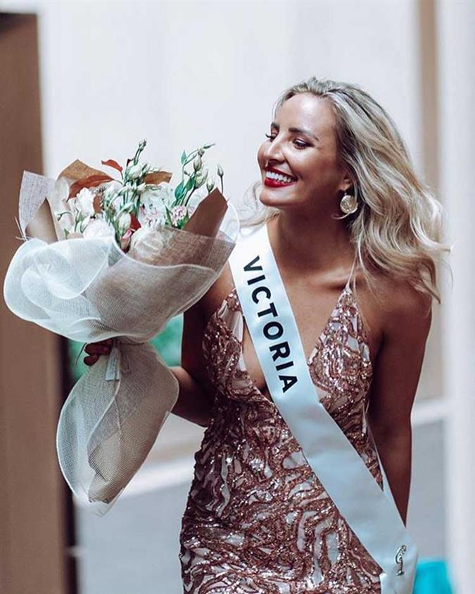Kristen Czyszek Finalist Miss Universe Australia 2020