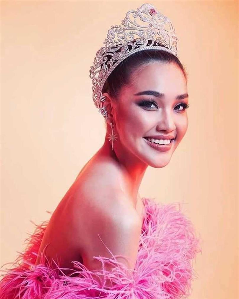Thailand's Narintorn Chadapattarawalrachoat on the road of winning BWAP in Miss World 2019
