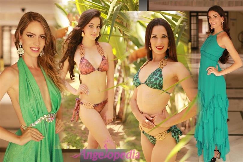 Finalists of Miss Grand Spain 2017 exhibit their grace in Evening and Swimwear Glam shoots
