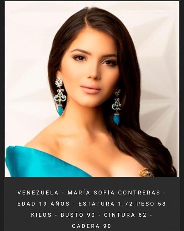 María Sofía Contreras to represent Venezuela in Reinado Internacional del Café 2019