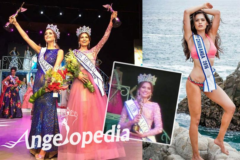 Andrea Meza crowned as Miss World Mexico 2017