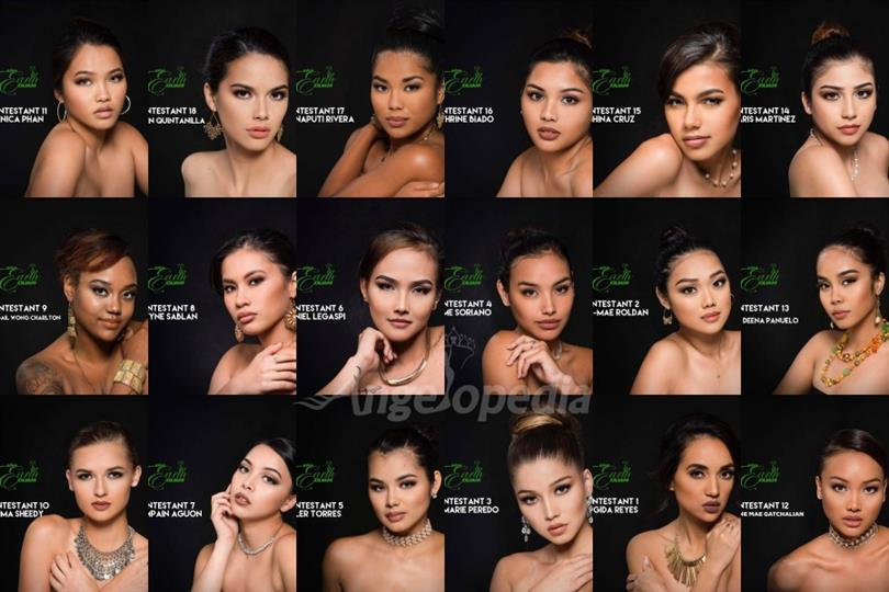 Miss Earth Guam 2017 Meet the contestants