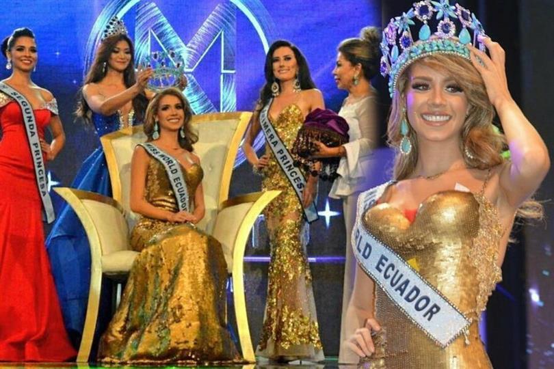 Romina Zeballos Avellan crowned as Miss World Ecuador 2017