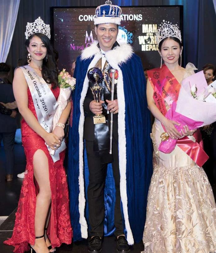 Jemina Shrestha Miss Nepal Oceania 2020