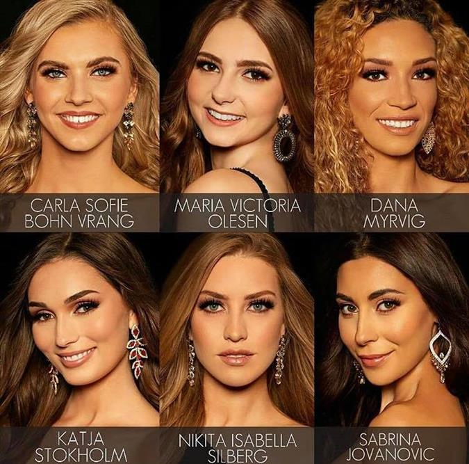 Miss Universe Denmark 2019 Meet the Contestants