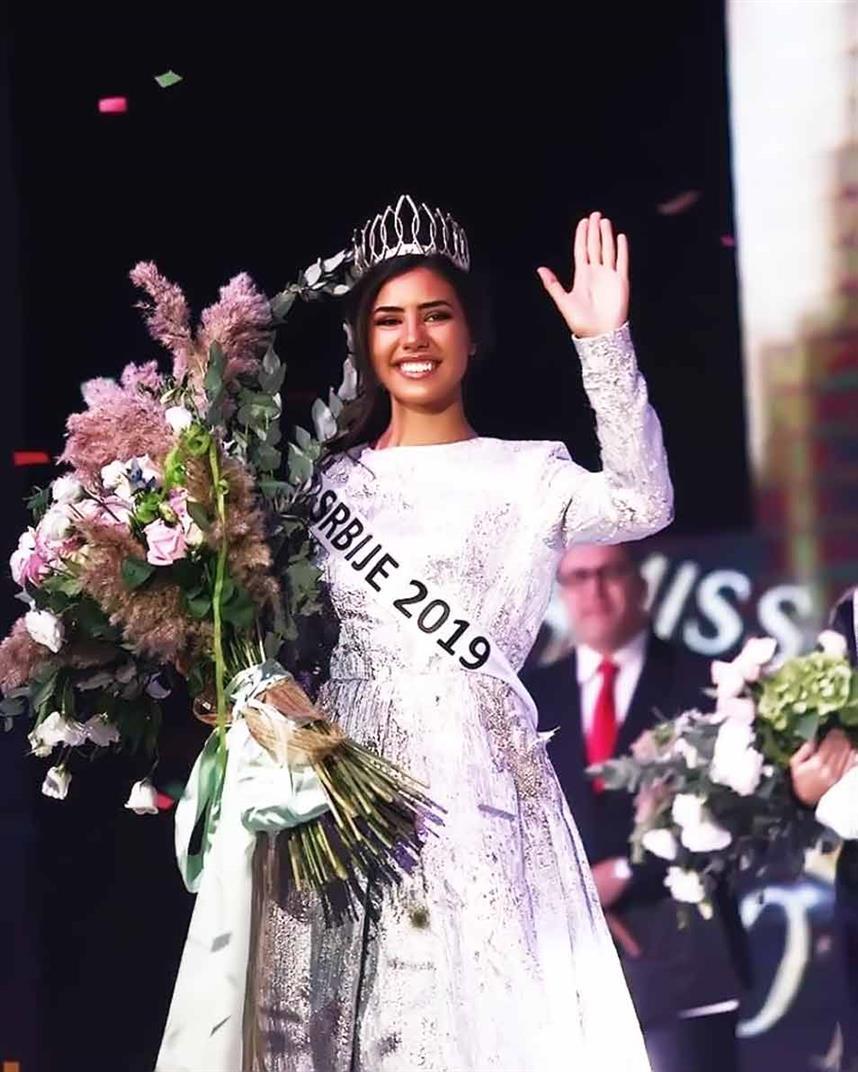 Andrijana Savic crowned Miss World Serbia 2019