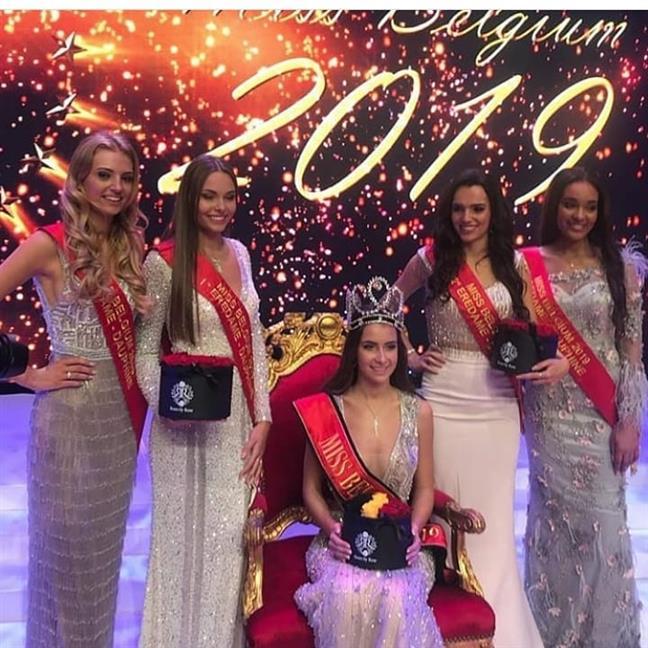 Elena Castro Suarez crowned Miss Belgium 2019/ Miss België 2019
