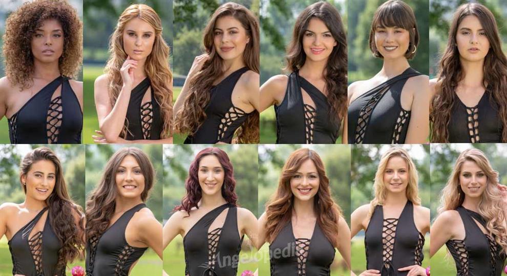 Miss Portuguesa 2018 Meet the Contestants