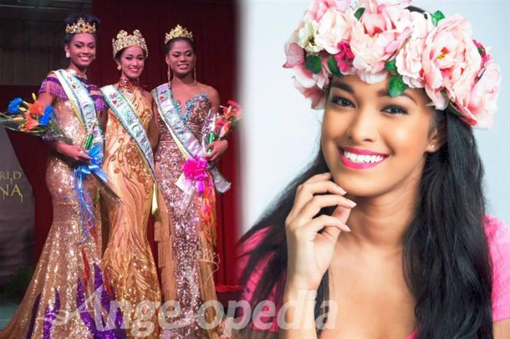 Vena Mookram crowned as Miss World Guyana 2017