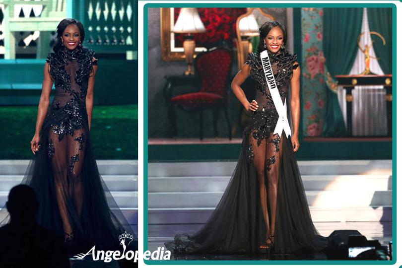 Miss USA 2015 Finalists don Evening Gowns designed by Filipino ...