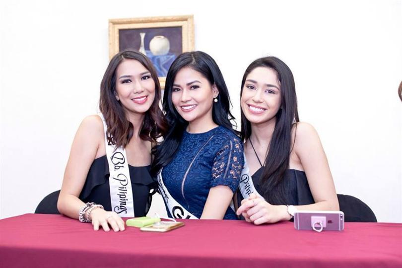 Binibining Pilipinas 2016 Winners attend the Philippine Retailers Association event