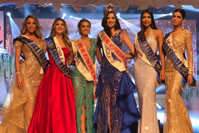 Nariman Battikha Yanyi crowned Reina Hispanoamericana 2018