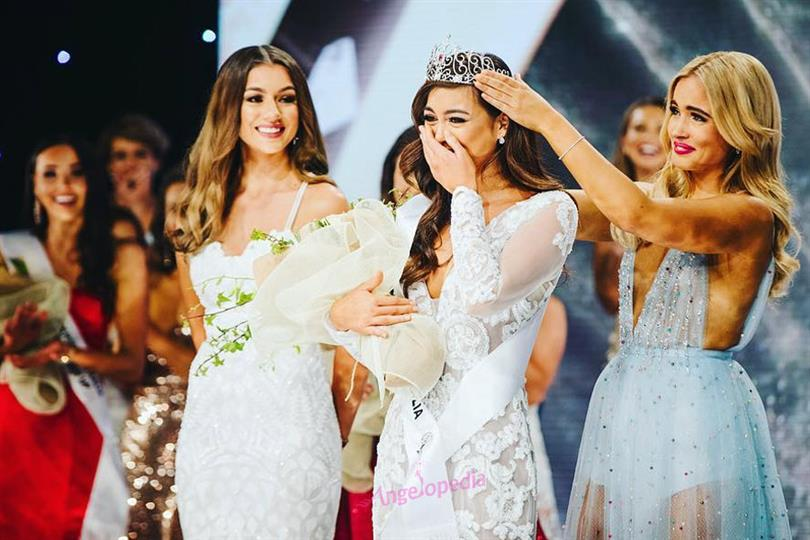 Francesca Hung Crowned Miss Universe Australia 2018
