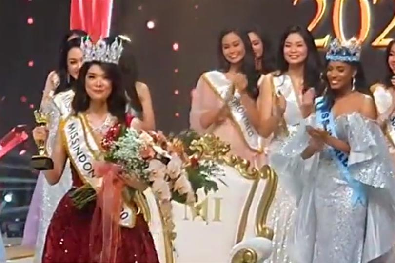 Pricilia Carla Yules of Sulawesi Selatan crowned Miss Indonesia 2020