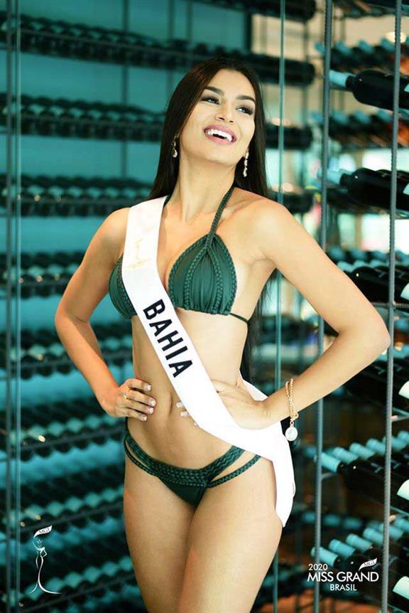 Juliana Santana Miss Grand Bahia 2020