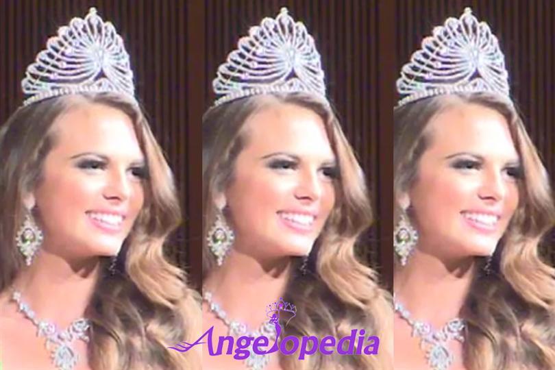 Natalia Fogelund is the new Miss World Sweden 2015