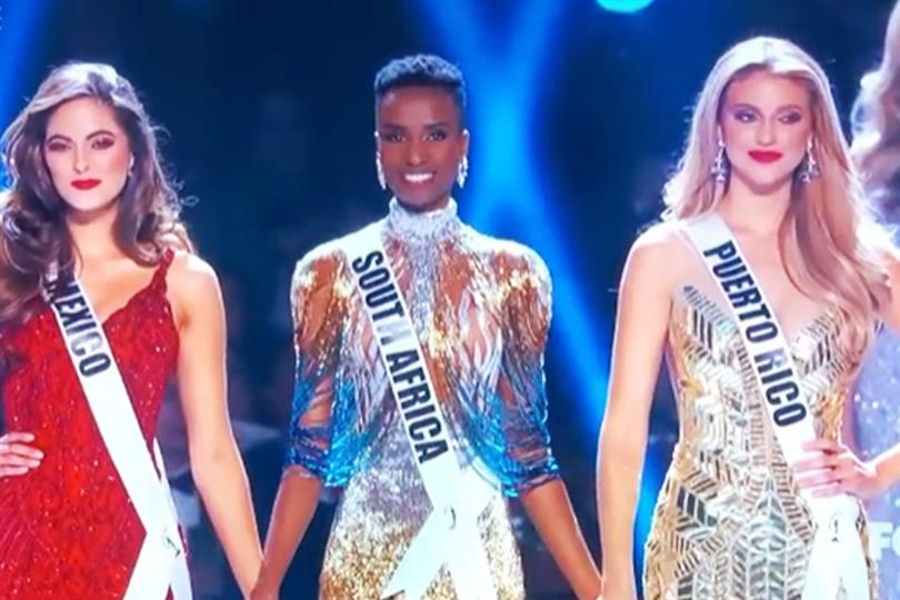 Zozibini Tunzi of South Africa crowned Miss Universe 2019