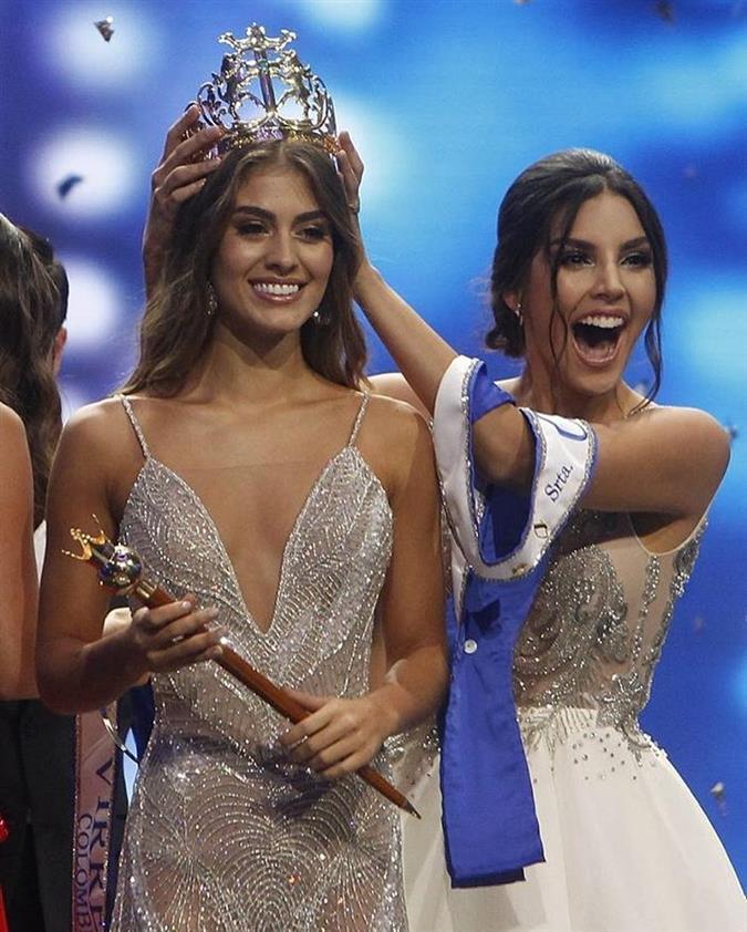 Valeria Morales Delgado crowned Miss Universe Colombia 2018