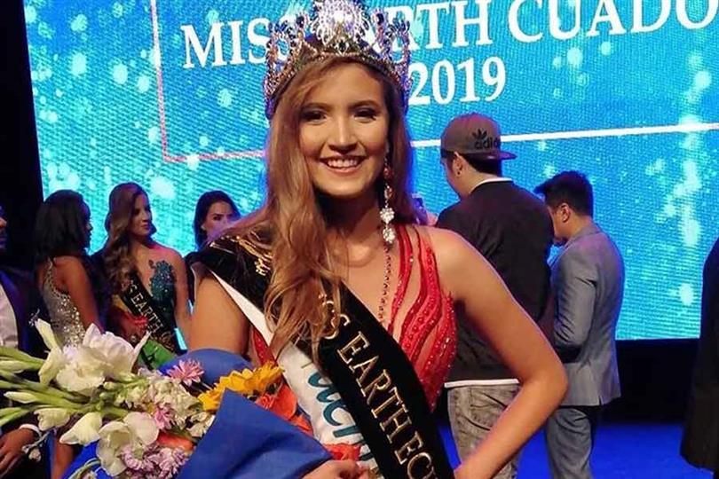 Antonella Paz Marìn crowned Miss Earth Ecuador 2019