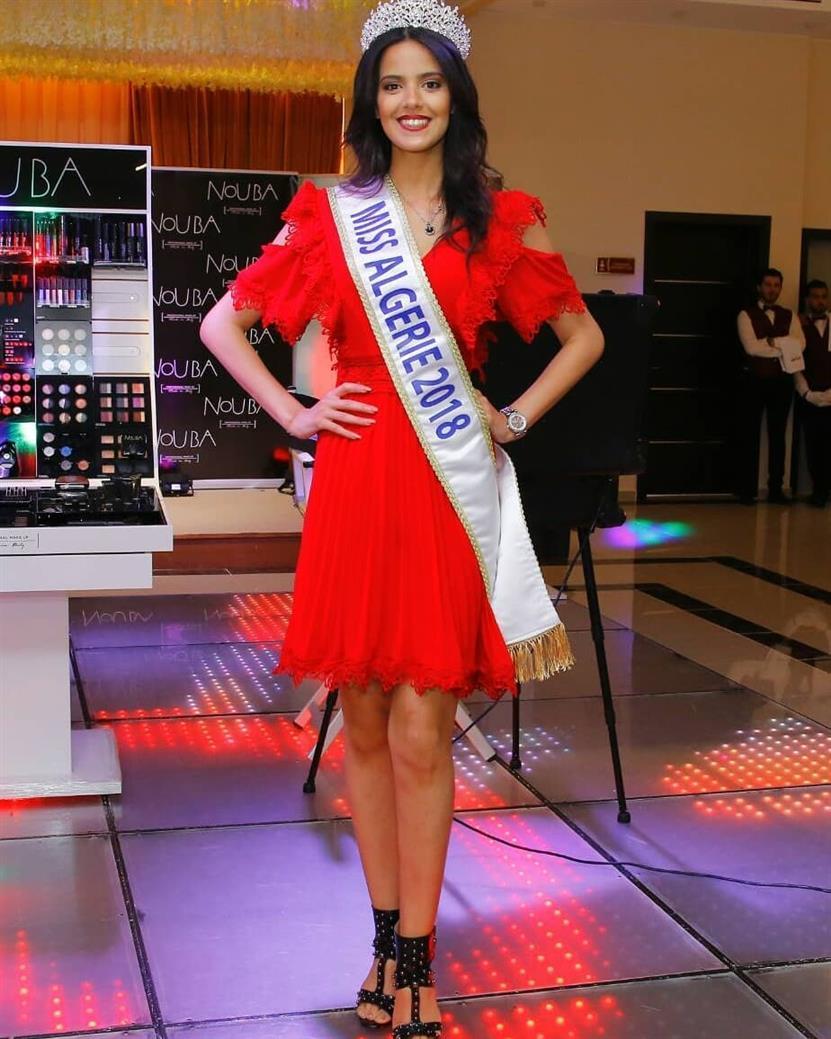 Miss World Algeria 2018 Nihad Markariah