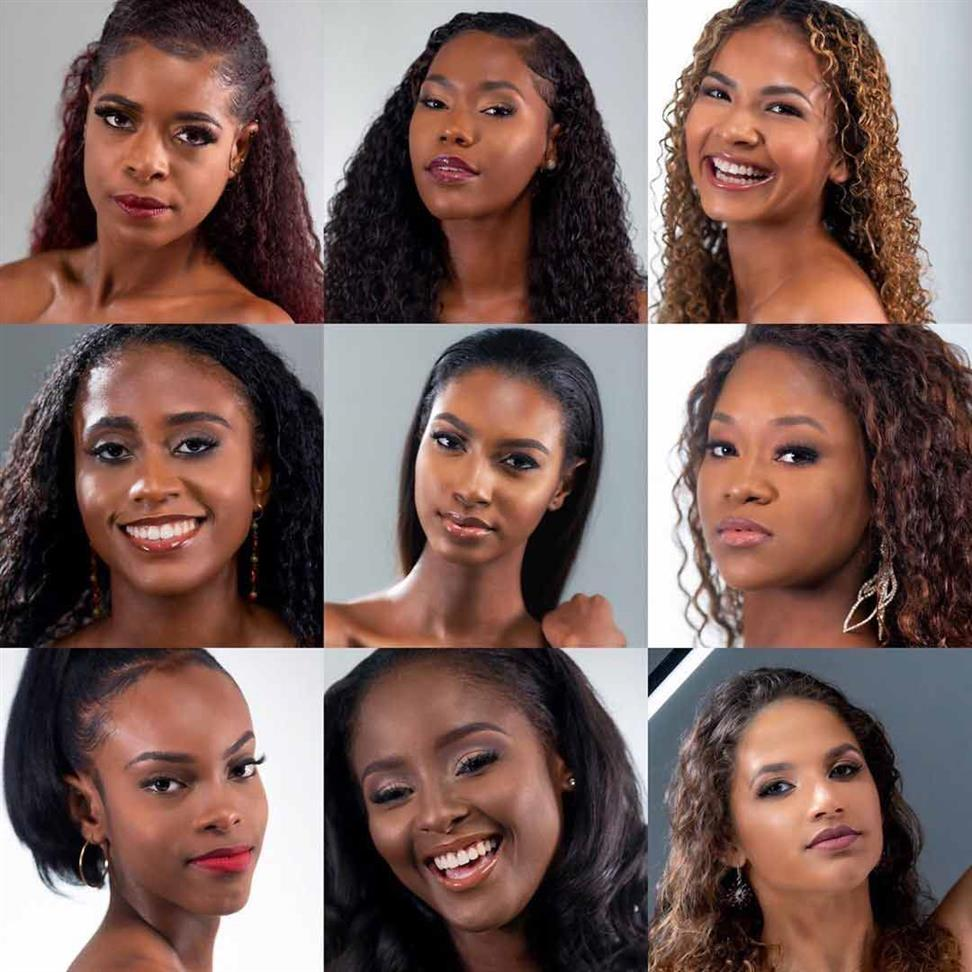 Miss Universe Barbados 2019 Meet the Contestants