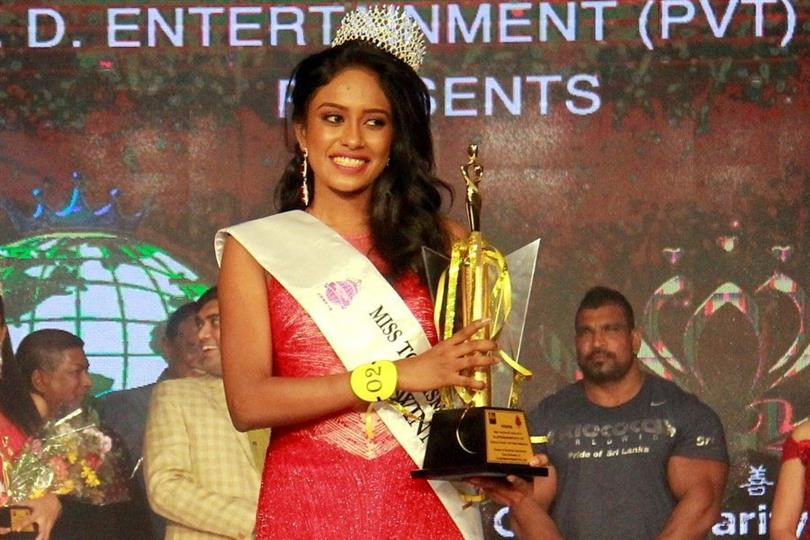 Sanjana Hewage crowned Miss Tourism Sri Lanka 2018