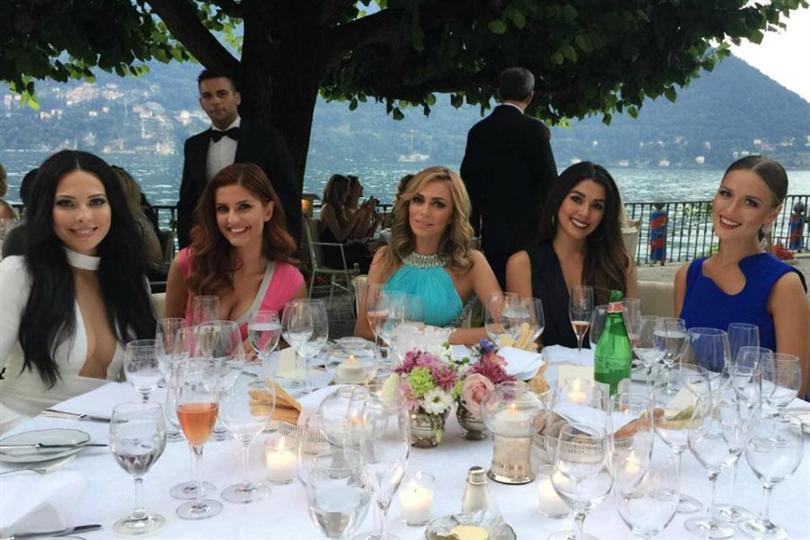 Miss Universe 2014 beauties reunite in Milan