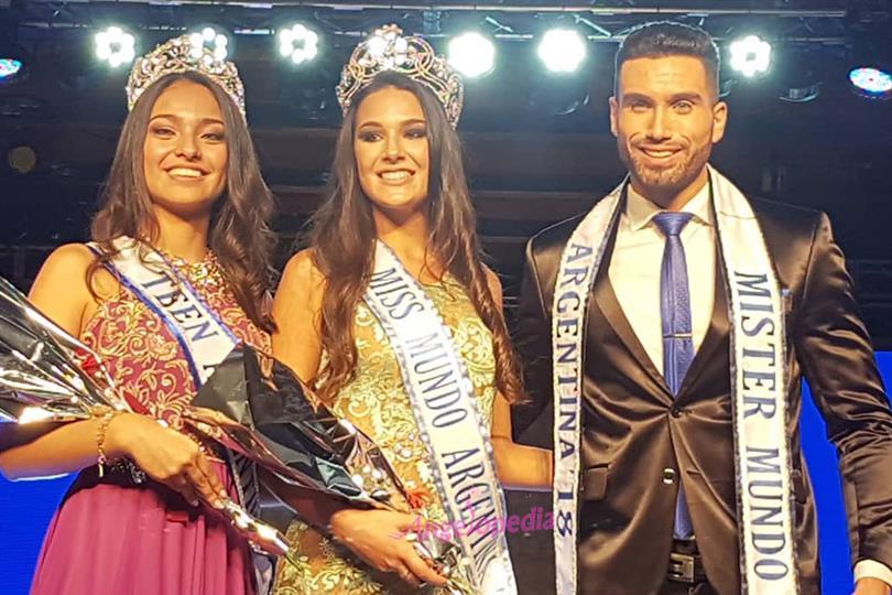 Victoria Soto crowned Miss Mundo Argentina 2018