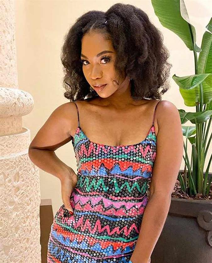 Jerchovia Moxey Miss Global Bahamas 2019