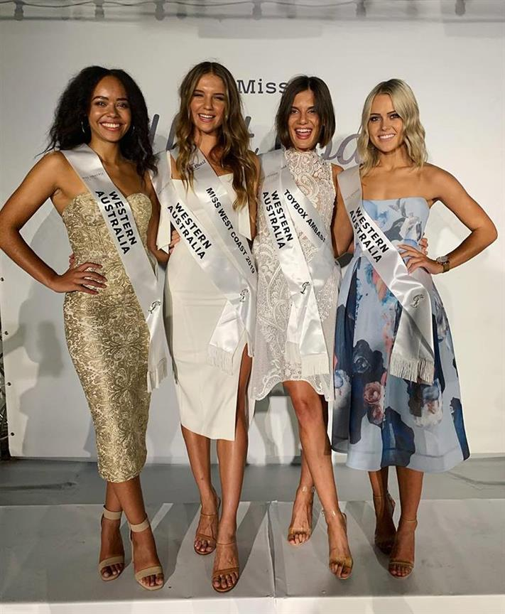 Road to Miss Universe Australia 2019 for Miss Universe 2019