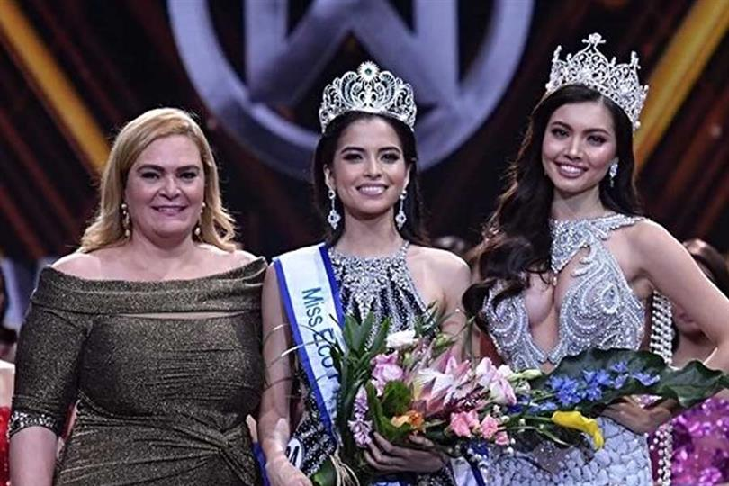 Kelley Day crowned Miss Eco Philippines 2019