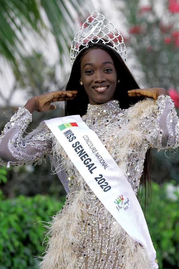 Meet Ndèye Fatima Dione Miss Senegal 2020 for Miss World 2020