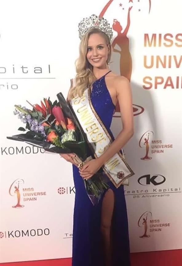 Natalie Ortega crowned Miss Universe Spain 2019
