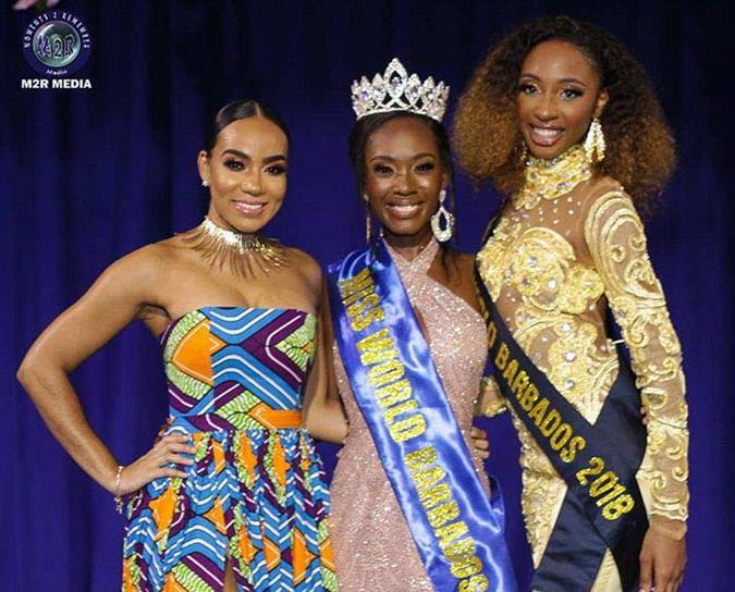 Ché Greenidge crowned Miss World Barbados 2019