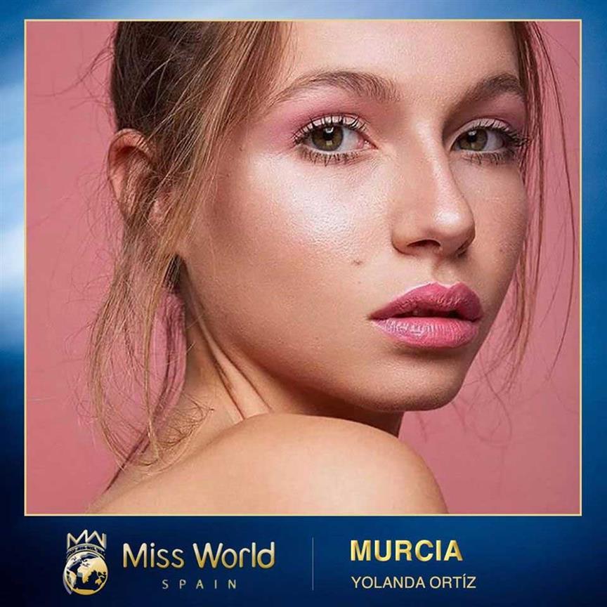Yolanda Ortiz appointed Miss World Murcia 2020 for Miss World Spain 2020
