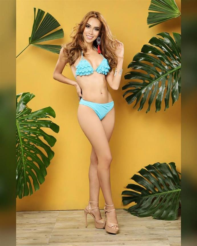 Miss Earth Colombia 2018 Top 5 Official Swimwear by Angelopedia