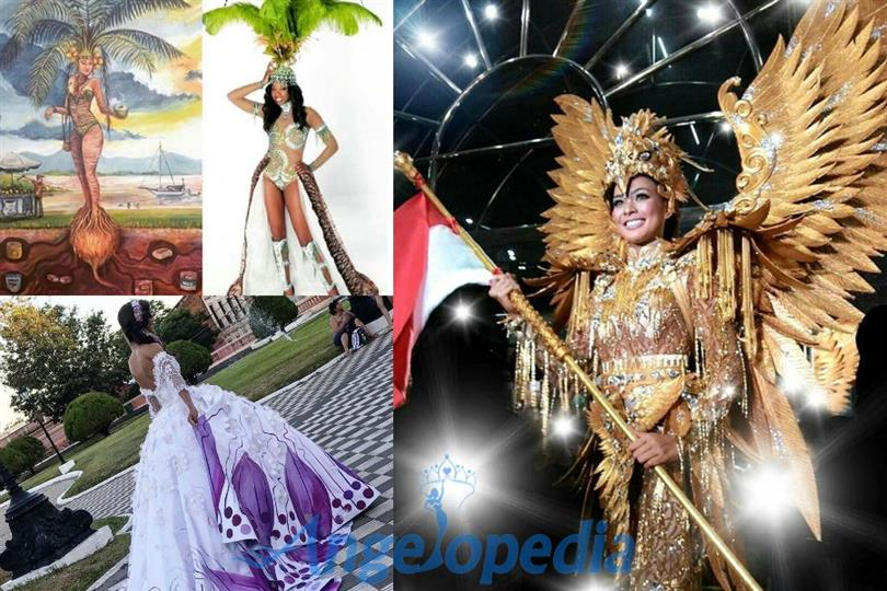 Unveiling more National Costumes of Miss Universe 2016