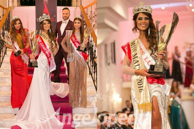 Christie Refalo crowned as Miss Earth Malta 2017