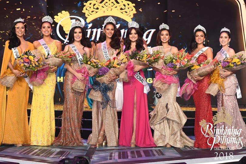 Catriona Gray Binibini 20 crowned Binibining Pilipinas 2018