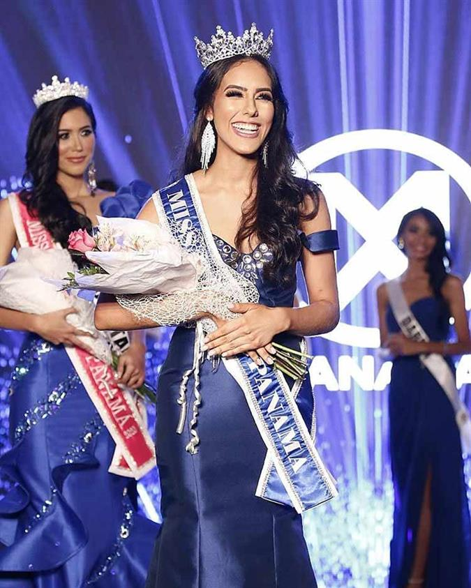 Agustina Ruiz crowned Miss World Panama2019