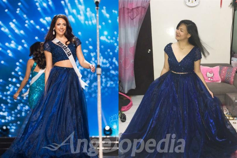 Violina Ancheva donates her Sherri Hill gown to 15 year old girl