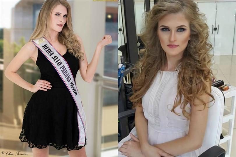 Simone Freitag crowned as Miss World Paraguay 2016