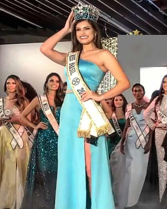 Elís Miele crowned Miss Mundo Brasil 2019