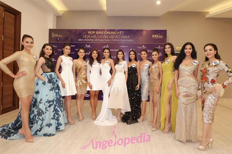 Miss Universe Vietnam 2017 organized its Press Conference in Nha Trang
