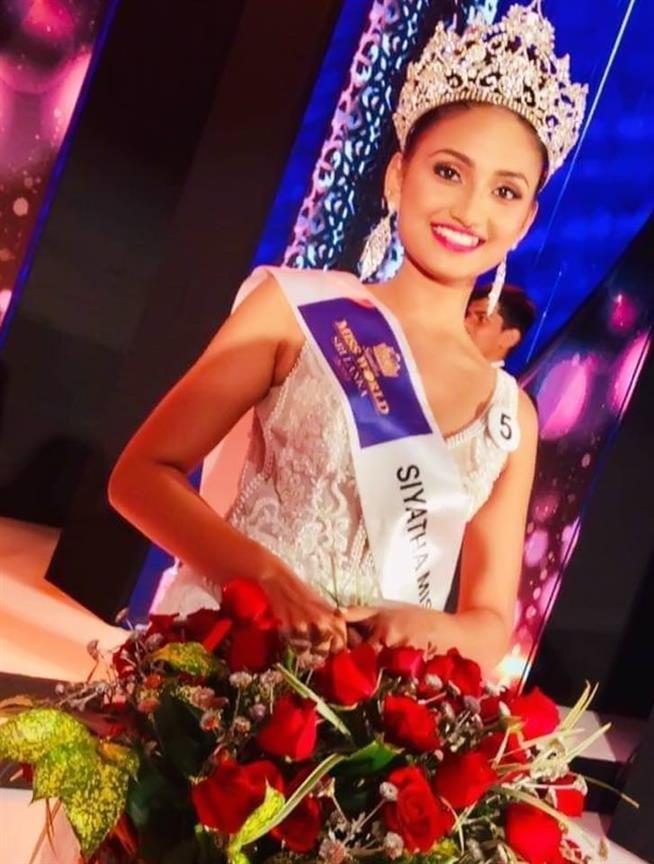 Dewmini Thathsarani to represent Sri Lanka in Miss World 2019