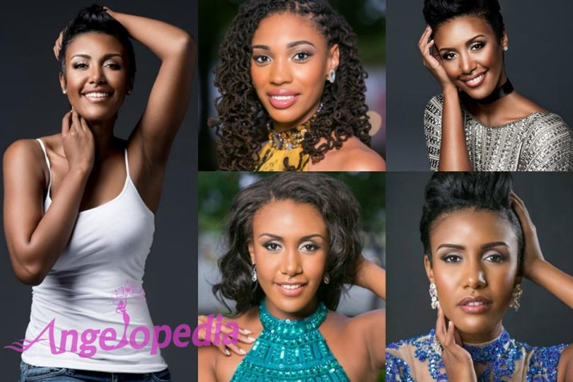 Monyque Brooks of Cayman Islands is ready for the Miss Universe 2016 pageant