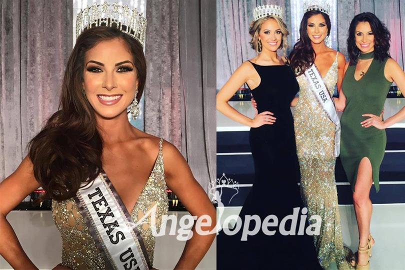Nancy Gonzalez crowned as Miss Texas USA 2017