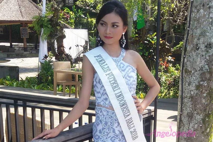 Anak Agung Ayu Mirah Cynthia crowned Puteri Indonesia Bali 2018 for Puteri Indonesia 2018